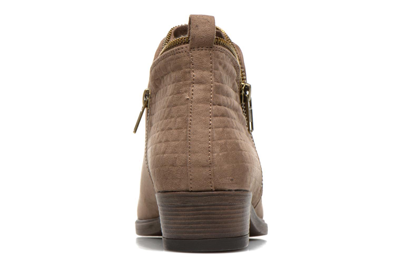 Botines  I Love Shoes Thazip Size + Marrón vista lateral derecha