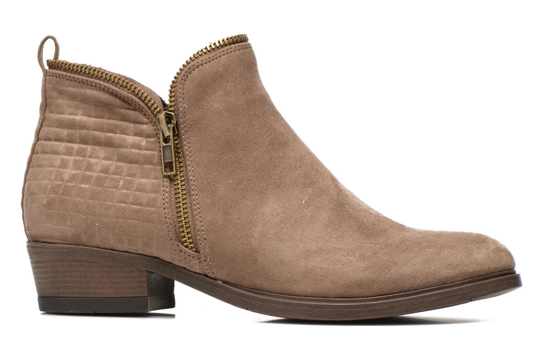Botines  I Love Shoes Thazip Size + Marrón vistra trasera