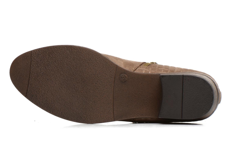 Botines  I Love Shoes Thazip Size + Marrón vista de arriba