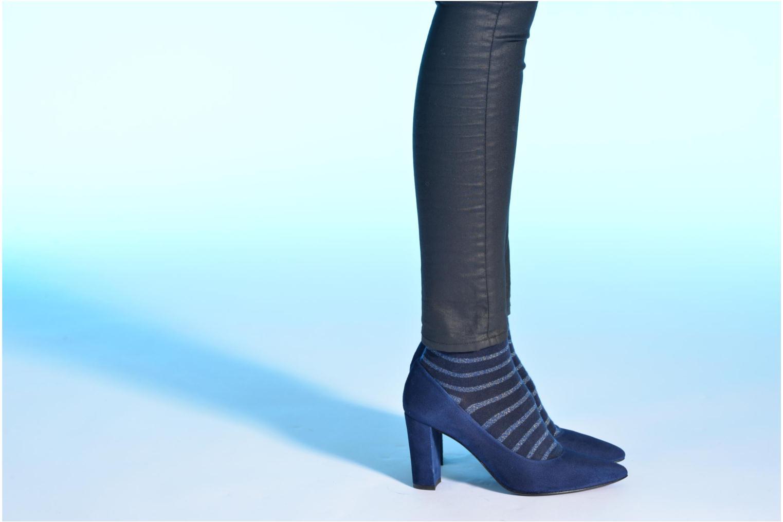 Høje hæle Made by SARENZA Glossy Cindy #16 Blå se forneden