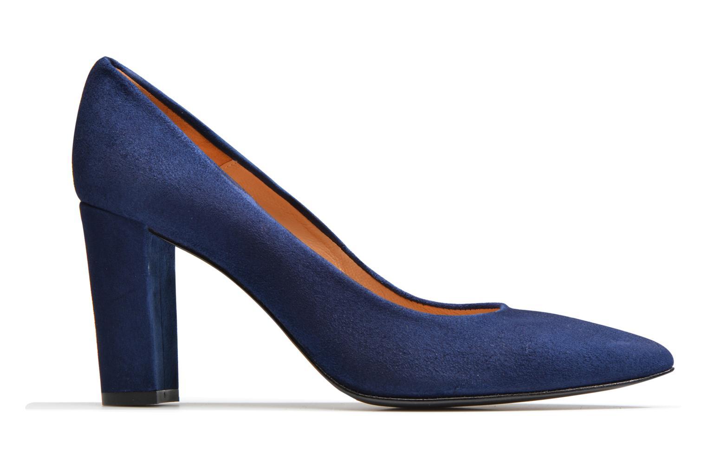 Høje hæle Made by SARENZA Glossy Cindy #16 Blå detaljeret billede af skoene