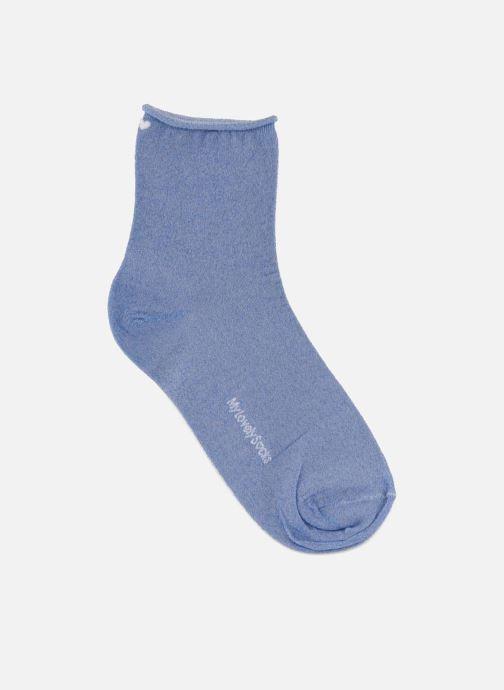 Sokken en panty's My Lovely Socks Nina Blauw detail