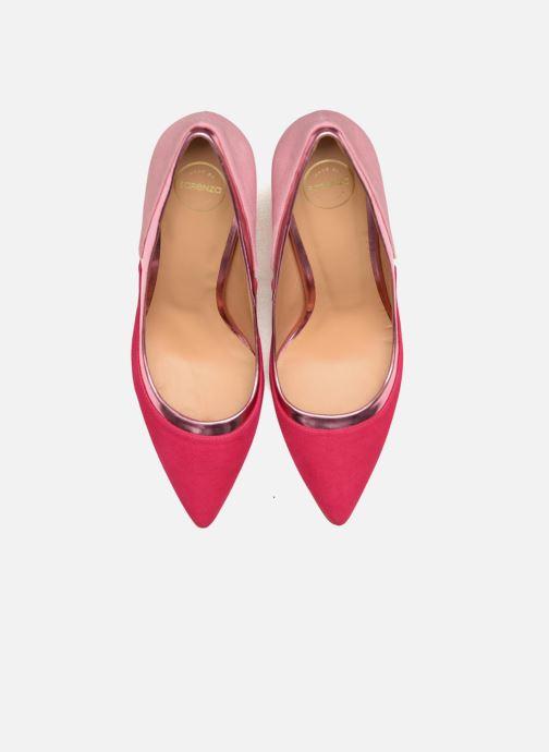 Escarpins Made by SARENZA Notting Heels #1 Rose vue portées chaussures