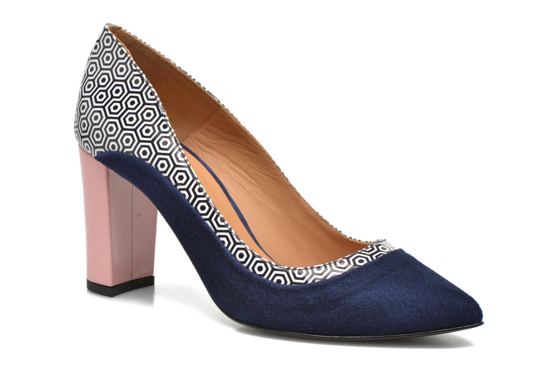 Escarpins Made by SARENZA Notting Heels #3 Multicolore vue droite
