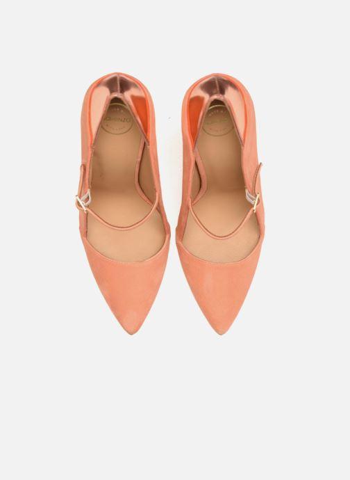 Escarpins Made by SARENZA Busy Girl Escarpins #2 Orange vue portées chaussures