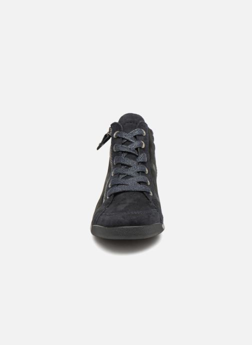 Baskets Ara Rom Bleu vue portées chaussures