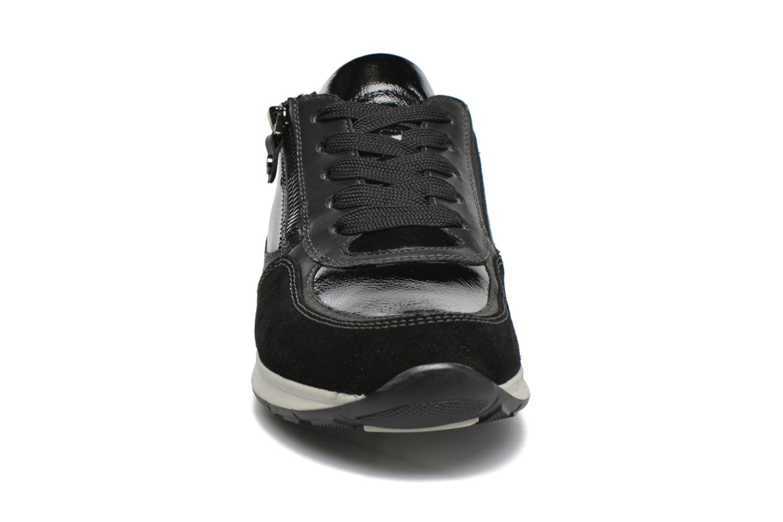 Baskets Ara Helsinki Noir vue portées chaussures