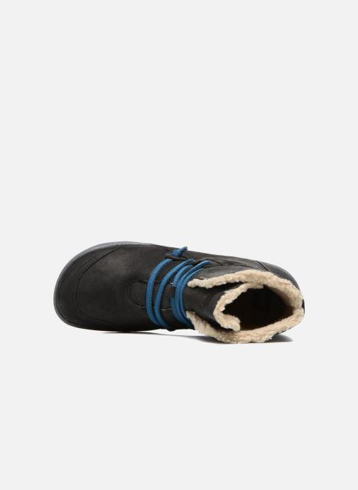 Boots en enkellaarsjes Camper Peu Cami 46477 lacets gris Zwart links