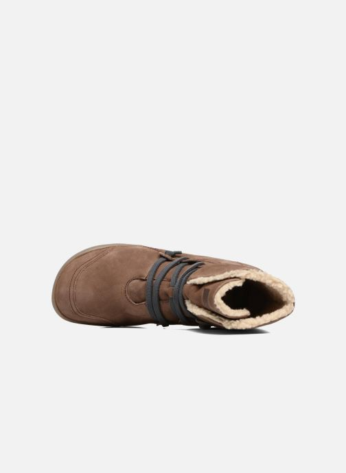 Boots en enkellaarsjes Camper Peu Cami 46477 lacets gris Bruin links