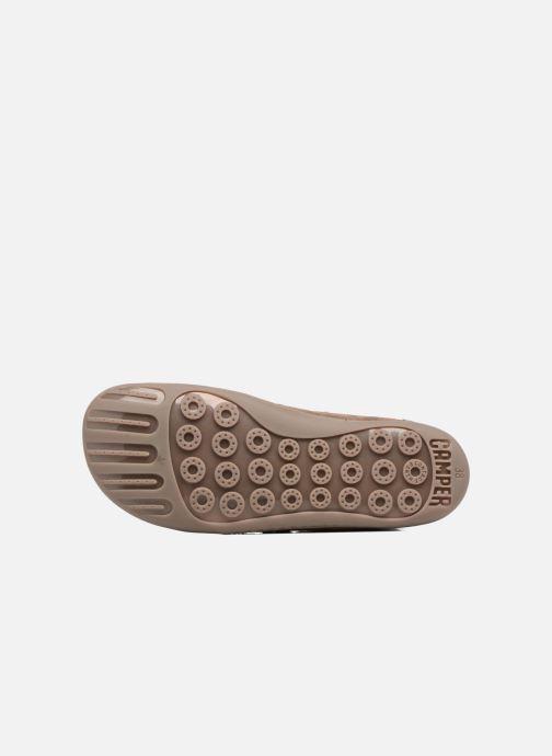 Boots en enkellaarsjes Camper Peu Cami 46477 lacets gris Bruin boven
