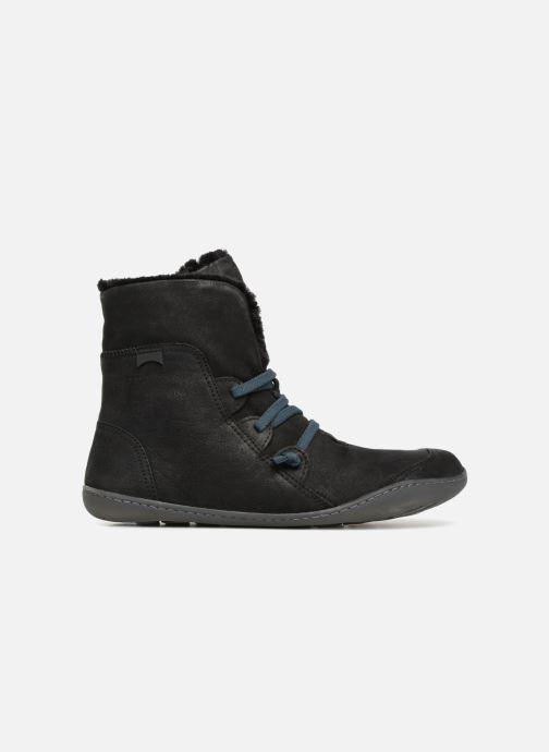 Bottines et boots Camper Peu Cami 46477 lacets gris Noir vue derrière
