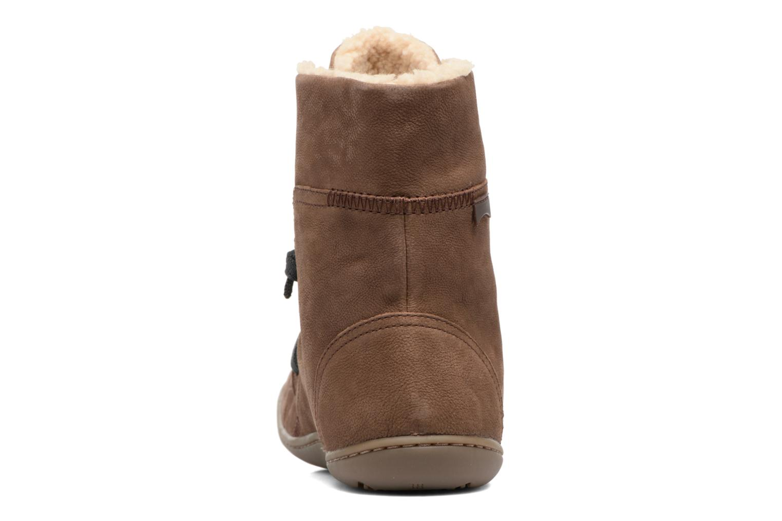 Ankle boots Camper Peu Cami 46477 Brown view from the right