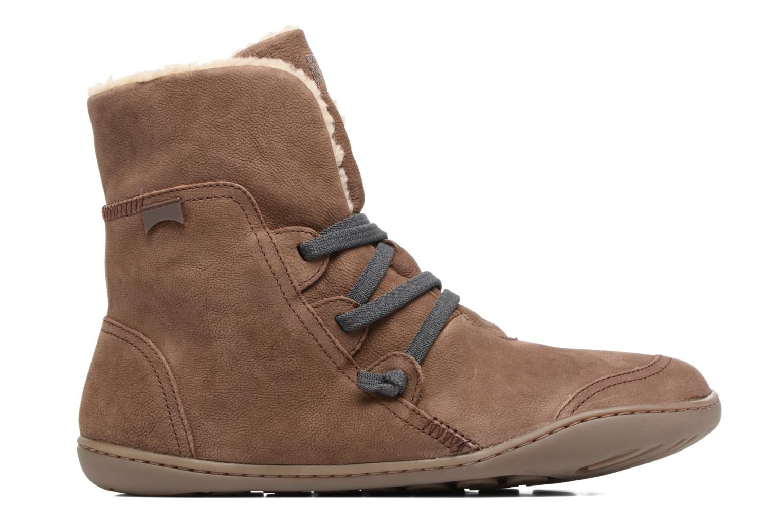 Ankle boots Camper Peu Cami 46477 Brown back view