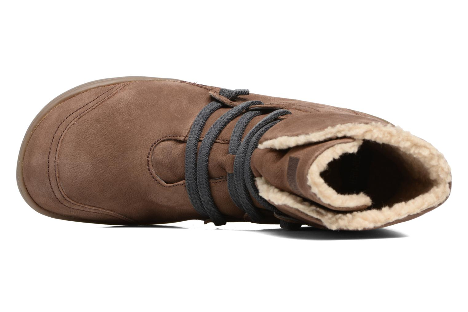 Ankle boots Camper Peu Cami 46477 Brown view from the left