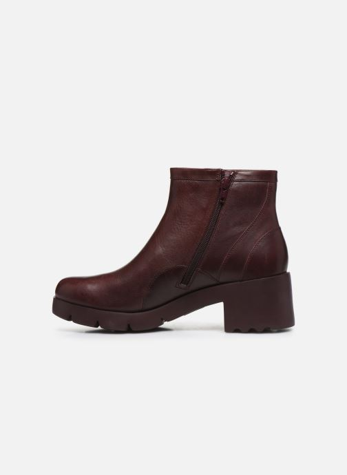 Bottines et boots Camper Wanda K400057 Bordeaux vue face