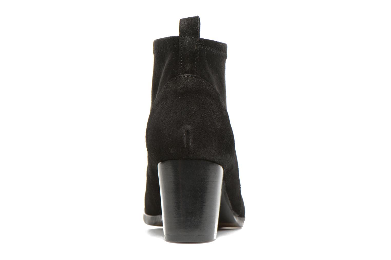 Bottines et boots Georgia Rose Semidris Noir vue droite