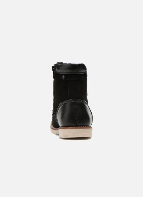 Bottines et boots Roadsign Dalton Noir vue droite