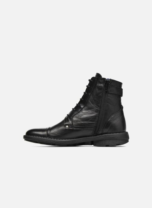 Bottines et boots Dorking Medina 6402 Noir vue face