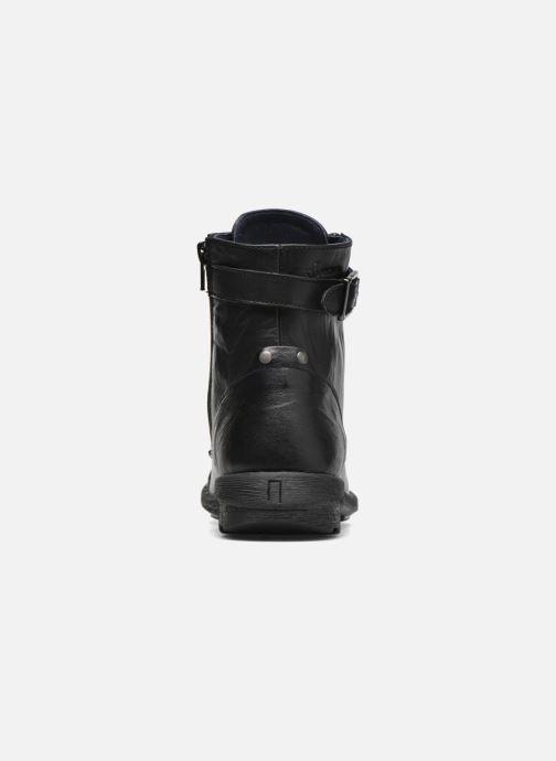 Bottines et boots Dorking Medina 6402 Noir vue droite