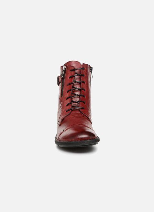 Boots en enkellaarsjes Dorking Medina 6402 Rood model
