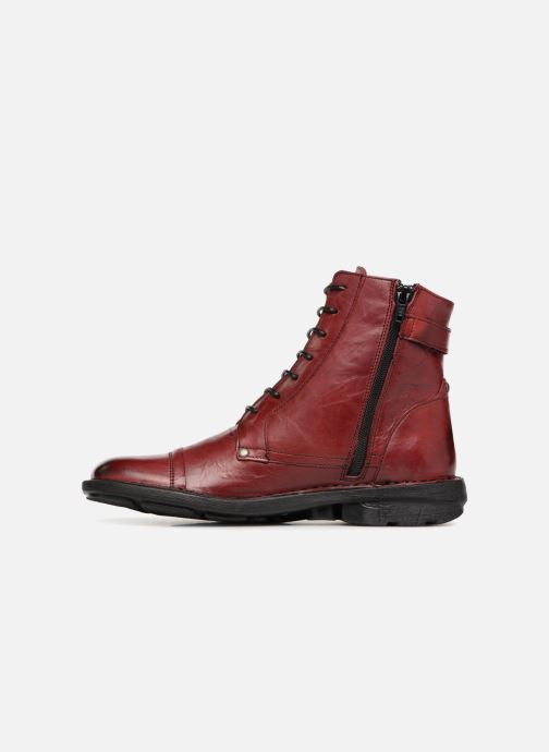 Bottines et boots Dorking Medina 6402 Rouge vue face