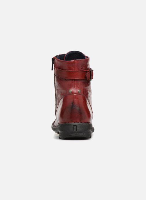 Boots en enkellaarsjes Dorking Medina 6402 Rood rechts