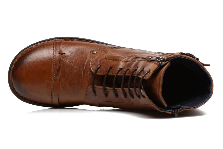 Bottines et boots Dorking Medina 6402 Marron vue gauche