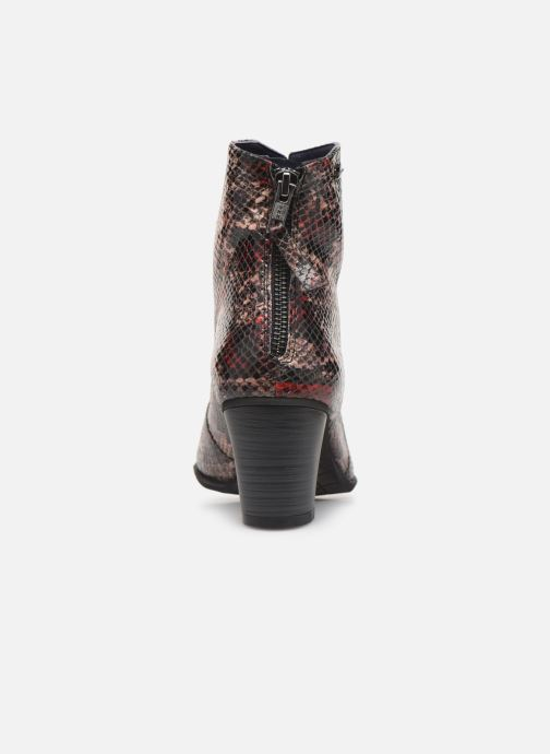 Ankle boots Dorking DEISY 6034 Multicolor view from the right