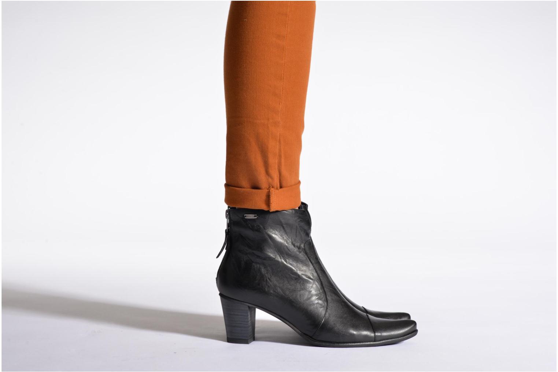 Bottines et boots Dorking DEISY 6034 Noir vue bas / vue portée sac