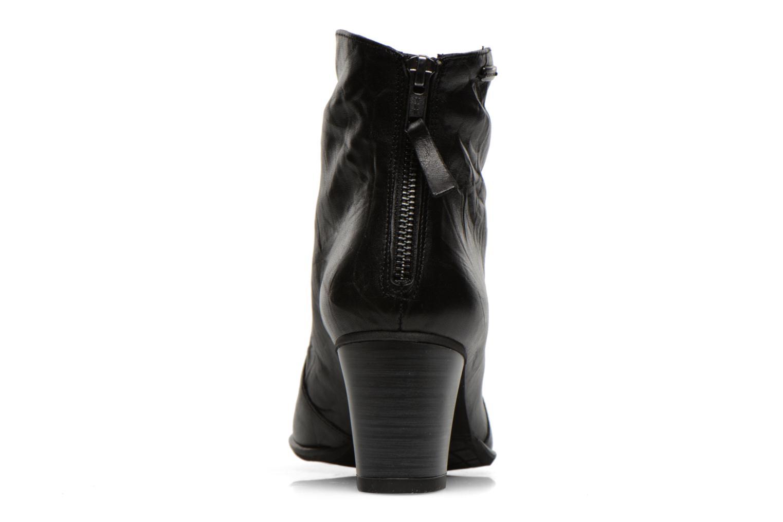 Bottines et boots Dorking DEISY 6034 Noir vue droite