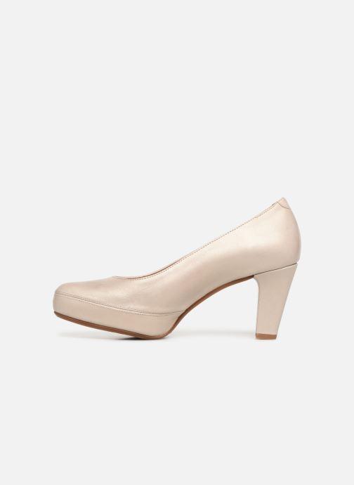 Zapatos de tacón Dorking Blesa 5794 Beige vista de frente