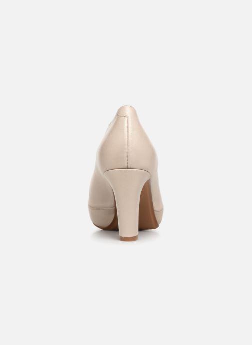 Zapatos de tacón Dorking Blesa 5794 Beige vista lateral derecha