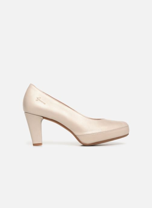 Zapatos de tacón Dorking Blesa 5794 Beige vistra trasera