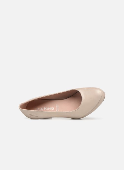 Zapatos de tacón Dorking Blesa 5794 Beige vista lateral izquierda