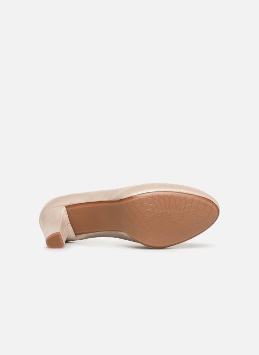 Zapatos de tacón Dorking Blesa 5794 Beige vista de arriba