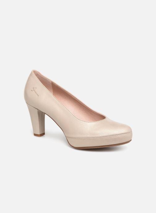 Høje hæle Dorking Blesa 5794 Beige detaljeret billede af skoene