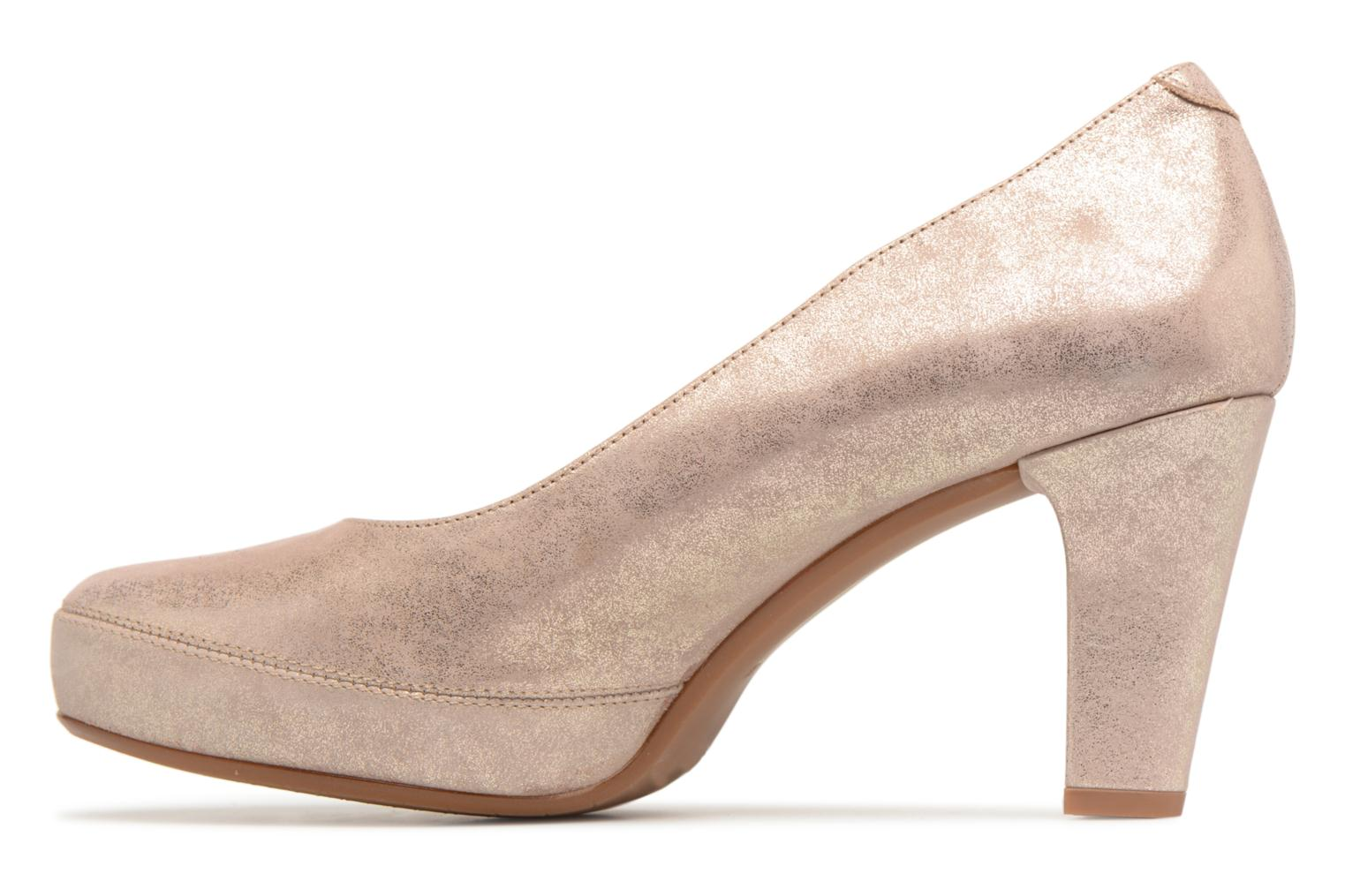 High heels Dorking Blesa 5794 Bronze and Gold front view