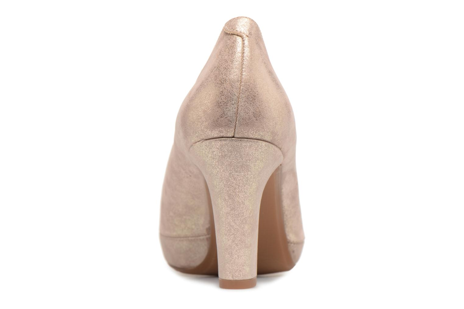 High heels Dorking Blesa 5794 Bronze and Gold view from the right