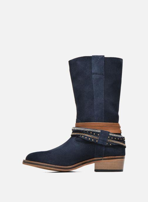 Bottines et boots Les Tropéziennes par M Belarbi Apache Bleu vue face