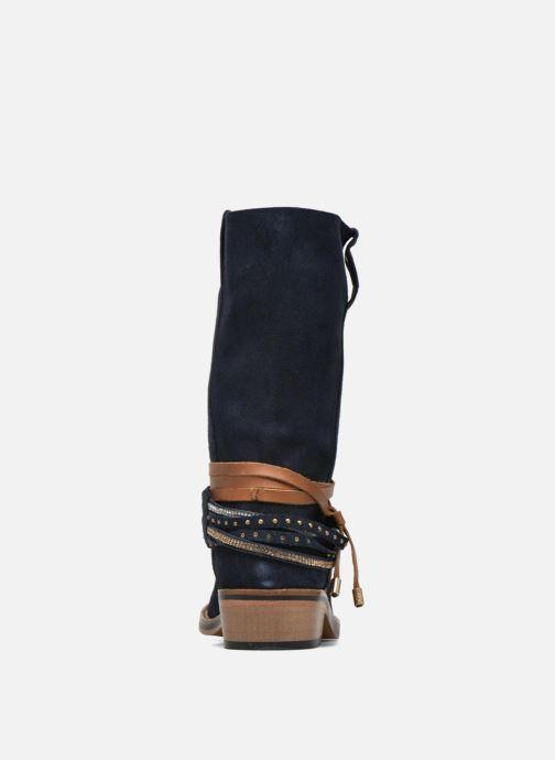 Bottines et boots Les Tropéziennes par M Belarbi Apache Bleu vue droite