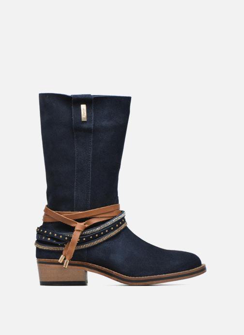 Bottines et boots Les Tropéziennes par M Belarbi Apache Bleu vue derrière