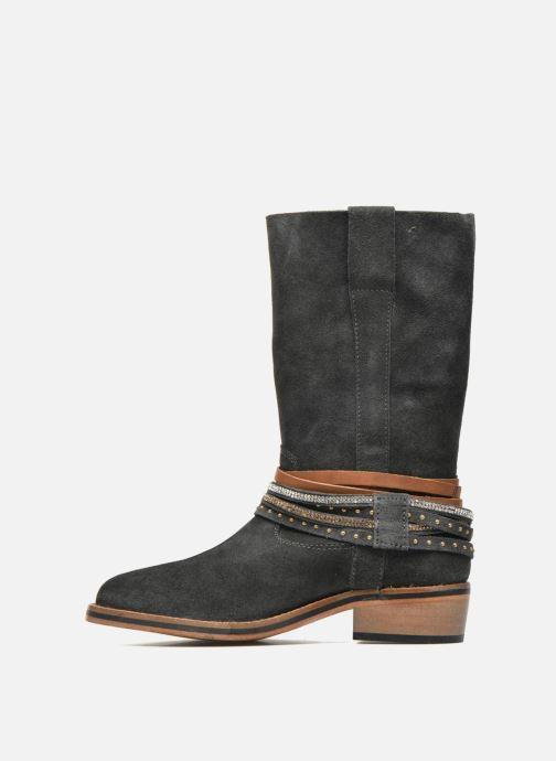 Bottines et boots Les Tropéziennes par M Belarbi Apache Gris vue face