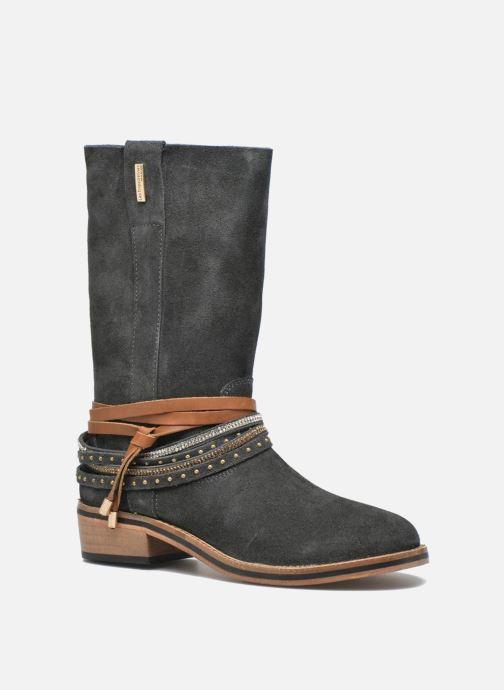 Bottines et boots Les Tropéziennes par M Belarbi Apache Gris vue détail/paire