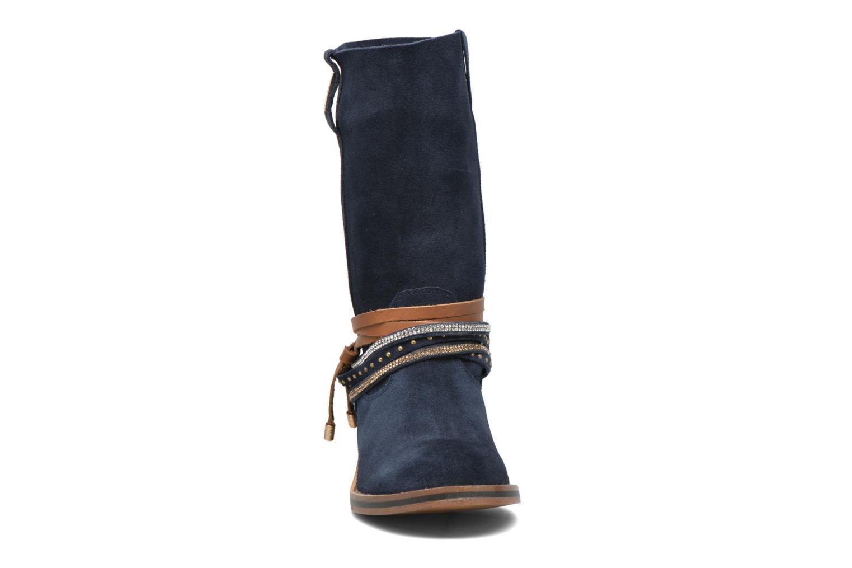 Bottines et boots Les Tropéziennes par M Belarbi Apache Bleu vue portées chaussures