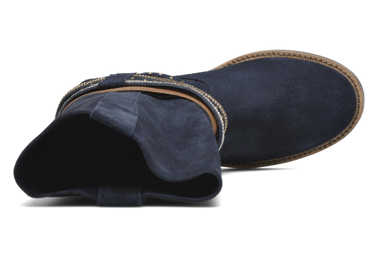 Bottines et boots Les Tropéziennes par M Belarbi Apache Bleu vue gauche
