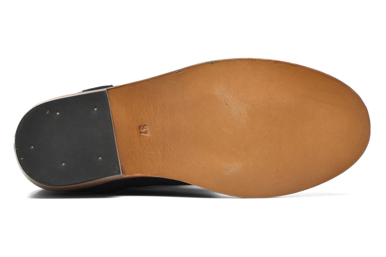 Bottines et boots Les Tropéziennes par M Belarbi Apache Bleu vue haut