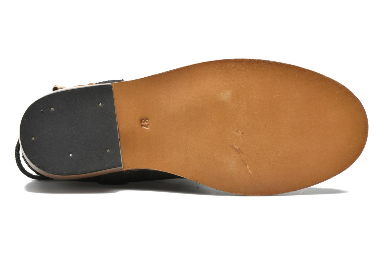 Bottines et boots Les Tropéziennes par M Belarbi Apache Gris vue haut