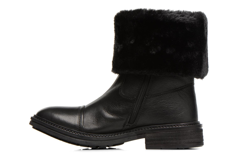 Bottines et boots Les Tropéziennes par M Belarbi Loutre Noir vue face
