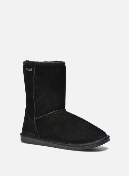 Ankle boots Les Tropéziennes par M Belarbi Snow Black detailed view/ Pair view