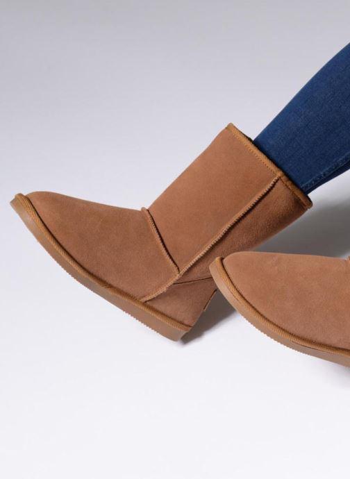 Ankle boots Les Tropéziennes par M Belarbi Snow Brown view from underneath / model view